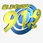 Logo da emissora Rádio Eldorado 91.9 FM