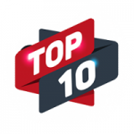 Logo da emissora Rádio Top 10