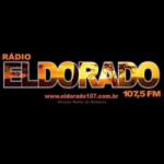 Logo da emissora Rádio Eldorado 107.5 FM