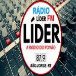 Logo da emissora Rádio Lider FM SJ
