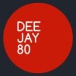Logo da emissora Radio Deejay 80
