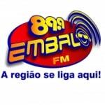 Logo da emissora Rádio Embalo 89.9 FM