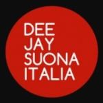Logo da emissora Radio Deejay Suona Italia