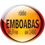 Logo da emissora Rádio Emboabas 96.9 FM