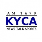 Logo da emissora KYCA 1490 AM