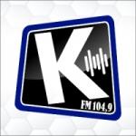 Logo da emissora Rádio Kairós 104.9 FM