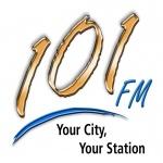 Logo da emissora Radio 101 Radio Logan FM
