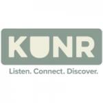 Logo da emissora KUNR 88.7 FM