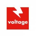 Logo da emissora Voltage 96.9 FM