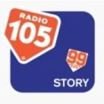 Logo da emissora Radio 105 Story