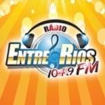 Logo da emissora Rádio Entre Rios 104.9 FM