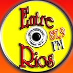Logo da emissora Rádio Entre Rios 87.9 FM
