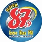 Logo da emissora Rádio Nova Entre Rios 87.9 FM