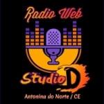 Logo da emissora Rádio Web Studio D