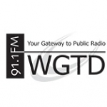 Logo da emissora WGTD 91.1 FM