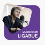 Logo da emissora Radio 105 Music Star Ligabue