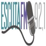 Logo da emissora Rádio Escuta 92.1 FM