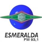 Logo da emissora Rádio Esmeralda 93.1 FM
