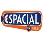 Logo da emissora Rádio Espacial 105.5 FM