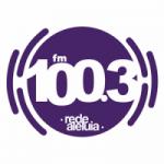 Logo da emissora Rádio Rede Aleluia 100.3 FM