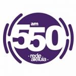Logo da emissora Rádio Rede Aleluia 550 AM