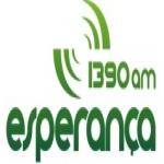 Logo da emissora Rádio Esperança 1390 AM