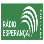 Logo da emissora Rádio Esperança 92.7 FM