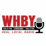 Logo da emissora WHBY 1150 AM