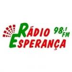 Logo da emissora Rádio Esperança 98.1 FM