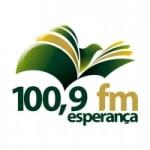 Logo da emissora Rádio Esperança 100.9 FM