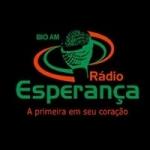 Logo da emissora Rádio Esperança 810 AM