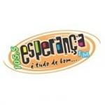 Logo da emissora Rádio Esperança 105.5 FM