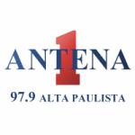 Logo da emissora Rádio Antena 1 97.9 FM