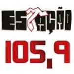 Logo da emissora Rádio Estação VG 105.9 FM