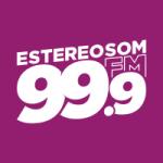 Logo da emissora Rádio Estereosom 99.9 FM