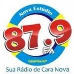 Logo da emissora Rádio Estúdio 87.9 FM