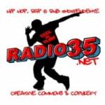 Logo da emissora Radio 35