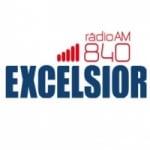 Logo da emissora Rádio Excelsior 840 AM
