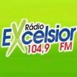 Logo da emissora Rádio Excelsior 104.9 FM