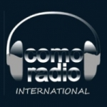 Logo da emissora Como Radio International
