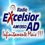 Logo da emissora Rádio Excelsior AD 1350 AM