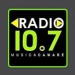 Logo da emissora Radio 10.7