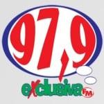 Logo da emissora Rádio Exclusiva 97.9 FM