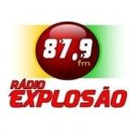 Logo da emissora Rádio Explosão 87.9 FM