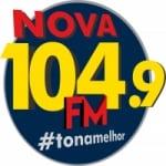 Logo da emissora Rádio Expressão 104.9 FM