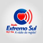 Logo da emissora Rádio Extremo Sul 93.7 FM