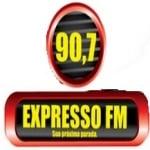 Logo da emissora Rádio Expresso 90.7 FM