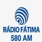 Logo da emissora Rádio Fátima 580 AM