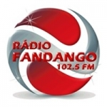 Logo da emissora Rádio Fandango 102.5 FM