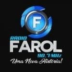 Logo da emissora Rádio Farol 90.7 FM